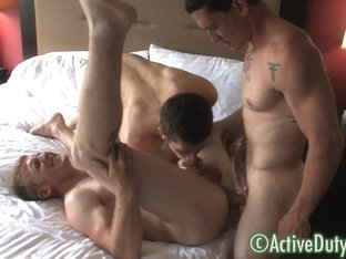 Brock, Rick & Tim Military Porn Video