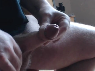Playing with my little cock