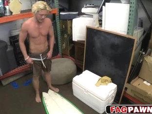 Sweet russian dude loves money than his ass