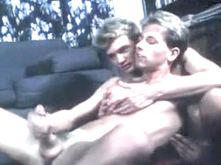 Hottest male in horny big dick, vintage homo porn scene