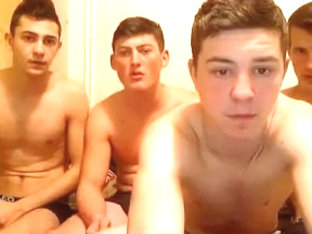 Five Young Gay And Bisexual Hot On Cam