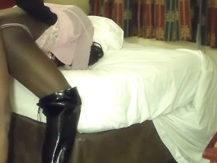 Ebony CD on High Heels
