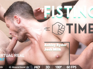 Fisting Time - Virtualrealgay