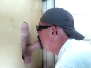 Gloryhole Fresh Fella Cums To Feed