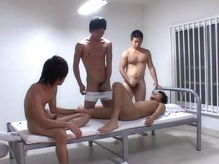 Best Asian homosexual dudes in Fabulous masturbation, dildos/toys JAV clip