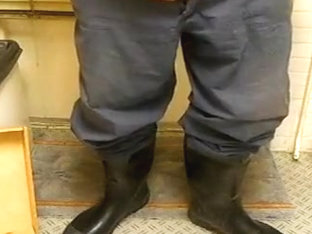 nlboots - camo coveralls blue working trousers piss boots
