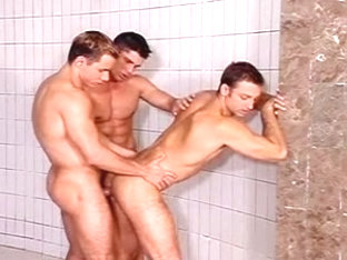 Hardcore boning in gay big dick porn video