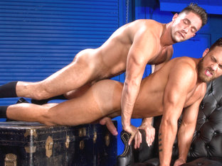 Logan Moore & Armando De Armas in Foreskin Mafia Video