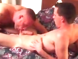 Incredible male in crazy bareback, blowjob gay adult video