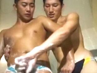 Japanese Hunks: Blow, Rim, Shower