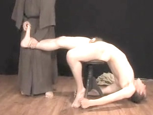 Horny male in fabulous handjob, fetish gay porn movie