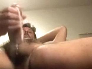 Budweiser-Guzzling, Marboro Chain-Smoking Jar-Head Gets A Hand-Job