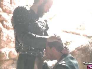 Colby Keller fucks Toby Dutch in Gay of Thrones