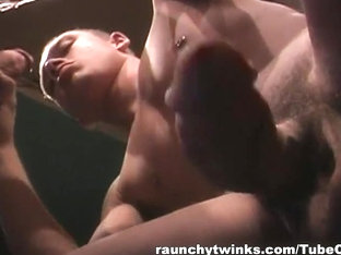 RaunchyTwinks Video: Young Muscled Guys Fucking