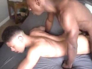 Amazing male in horny homo sex clip