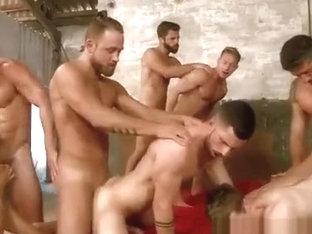 Super Gay Hero - Sense 8 - A Gay XXX Parody, Part 5 - 8-man orgy