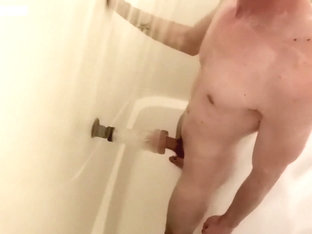 Sexy shower straight caught fleshjack fun