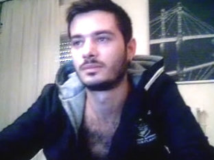 Greek Str8 Webcam Boy Is Jerking His Big Cock