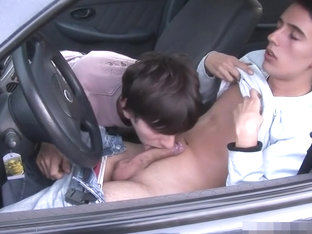 Aa Vid - Twink Boys Car Action