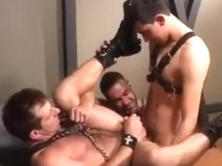Leather BB Riming & Fuck
