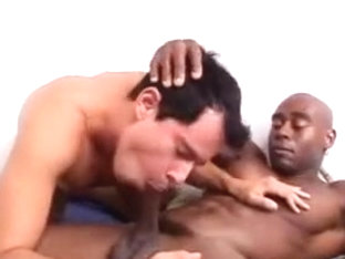 He worships hot black guy