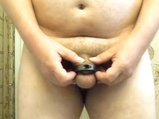 first cum in my cockring