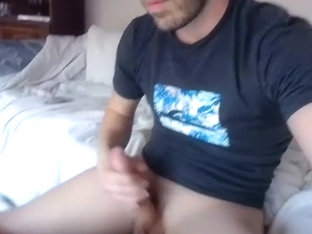 Sweet gay is frigging in the apartment and filming himself on camera