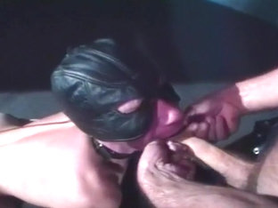 Gimp Mask Twink Fucked Up His Asshole