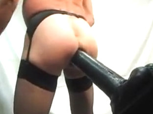 Big dildo 360x80mm all in a hot ass