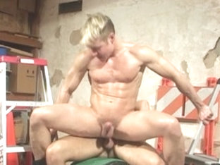 Exotic male pornstar in crazy blowjob, bears homosexual sex scene