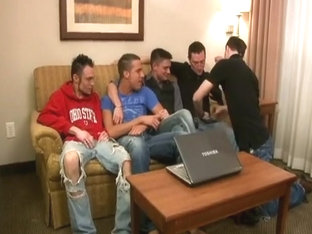 Crazy male in incredible group sex homosexual porn movie