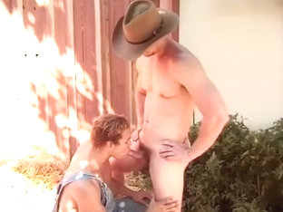 Well Hung Cowboy Pounds A Farmhand In His Tight Sphincter