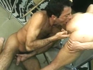 Incredible male pornstar in hottest rimming, blowjob homo sex scene