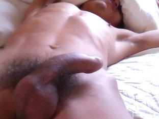Asian Uncut Boner Up Close