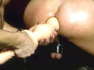 Crazy male pornstar in fabulous leather, big dick homo xxx clip