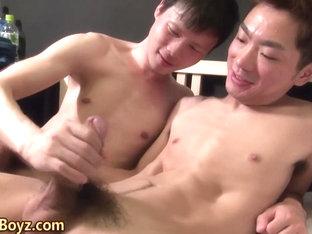 Asian twinks shoot cum