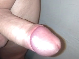Masturbating my penis close up.