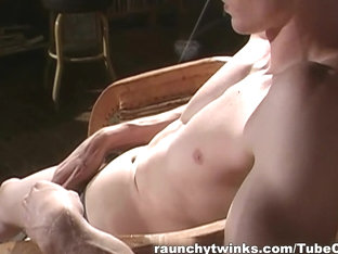 RaunchyTwinks Video: Hot jock flashes his body