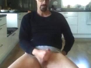 Swedish dude wanking
