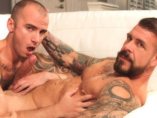 Rocco Steele and Cam Christou - BarebackThatHole