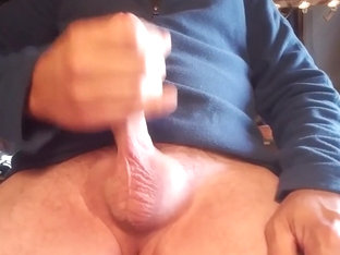Stroking my cock again