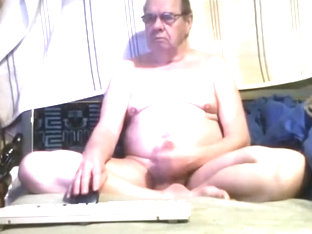 Grandpa stroke on webcam 3