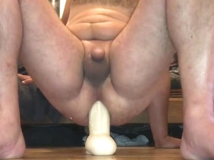 Sit on my huge dildo John Holmes
