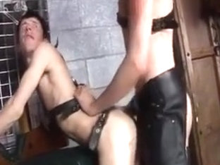 Lecherous twink loves to be a fetish