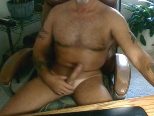 Hot dad home alone jerking