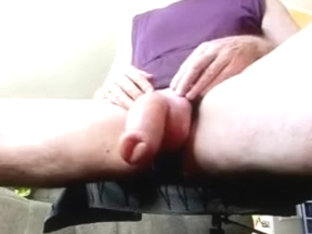 Shake my pumped foreskin cock