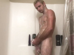 Shower fun cum and keep going