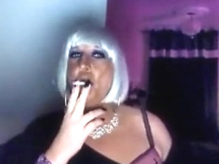 Chrissie the Smoking fetish Queen!!!