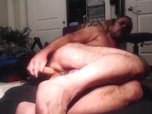 Dildo play & anal orgasm