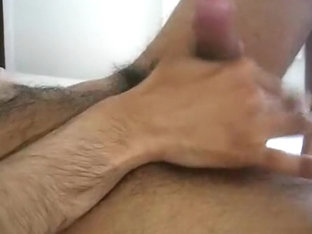 indian desi 10-Pounder being wanked during the time that see homo porn
